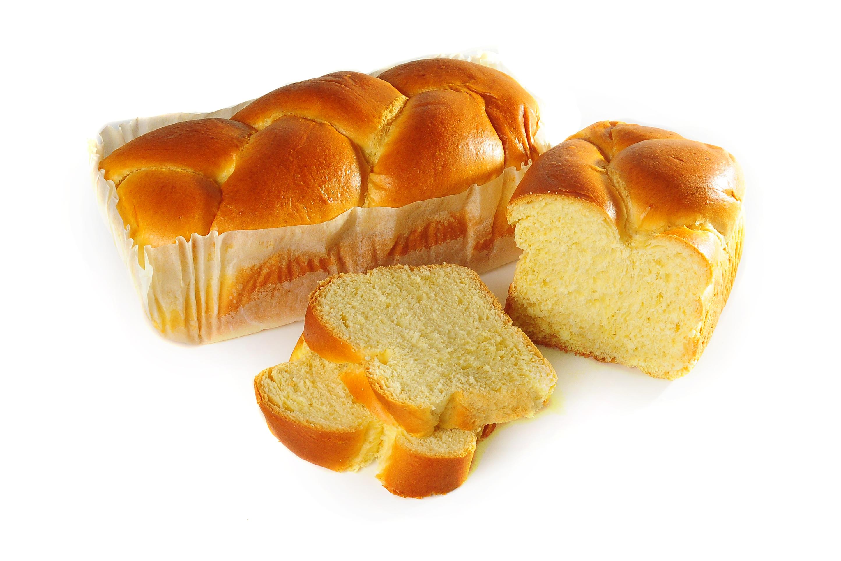Pan de brioche - Brioche trenzado 400 gr